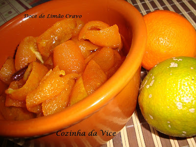 Doce de Limão Cravo, Capeta ou China, em Calda