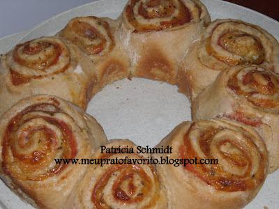 de rosca de padaria passo a passo