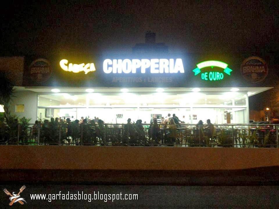 Chopperia Cabeça & Espetinho de Ouro: A união de dois grandes nomes