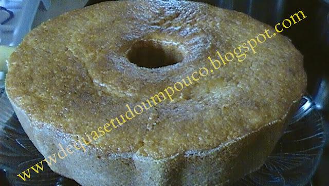 bolo de milho com milharina fofinho