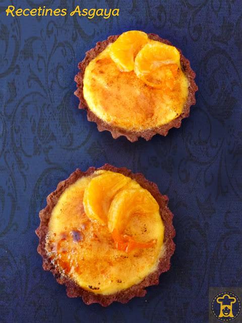 Tartaletas de Mandarina