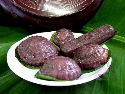 Black Glutinous Rice Angku Kuih