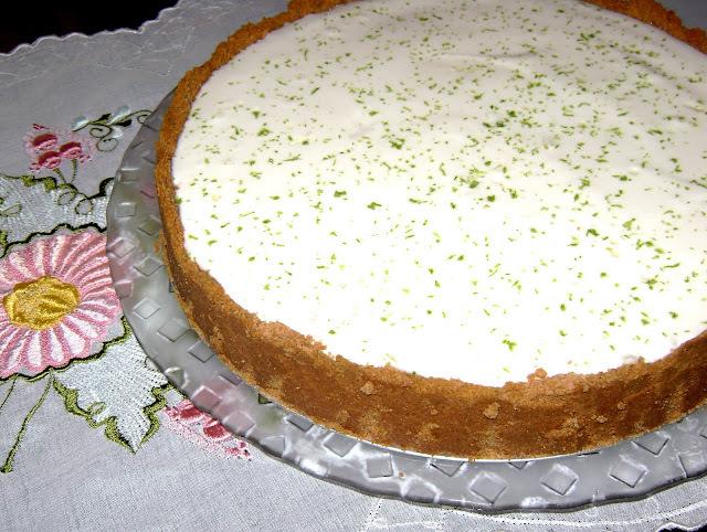 como congelar torta de limão
