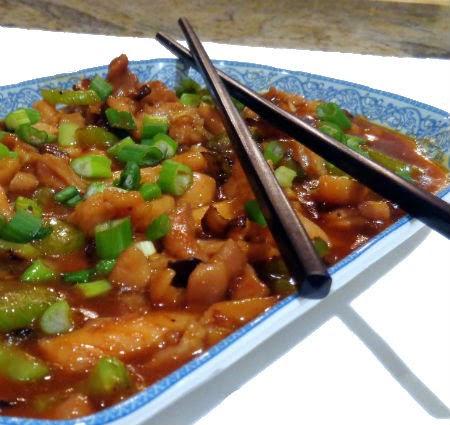 Bob's in the Kitchen - Sichuan Stir-Fried Chicken with Garlic Sauce
