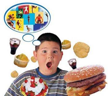 Meu filho come demais!