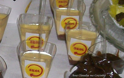 Musse de Maracujá com Ganache de Chocolate (Festa do Junior)