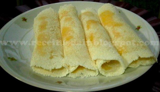 de tapioca simples com farofa de tapioca