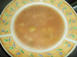 Sopa de batata e alho-poró