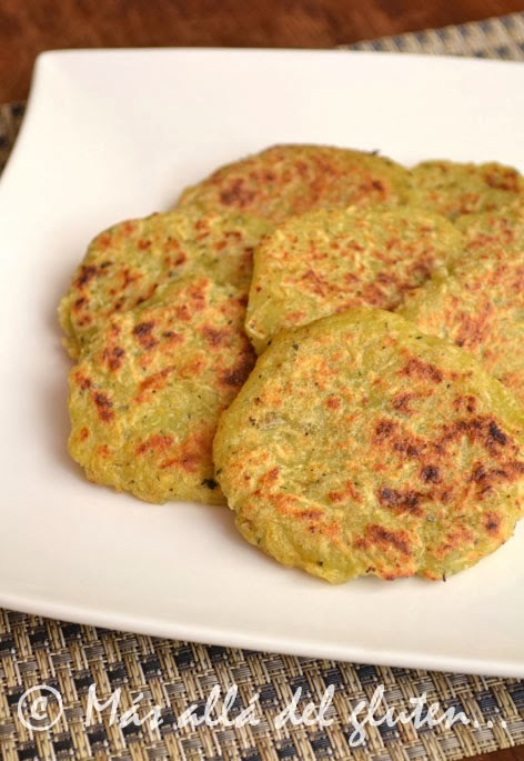 Tortillas de Batata y Zucchini (Receta GFCFSF, Vegana)