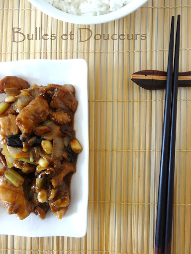 Chicken Kung Pao - Poulet Kung Pao