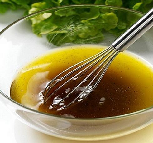 Vinagreta de miel rapida para aderezar ensaladas