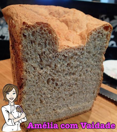 Pão Integral de Amaranto e Mel