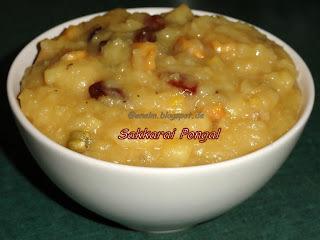 Sakkarai Pongal/Sweet Pongal
