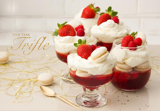 New Year Trifle - Feliz 2014