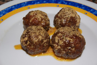 Albóndigas en salsa de yogur y pimentón