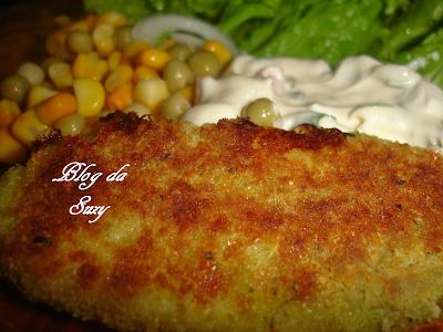 Peixe Empanado Assado (com migalhas aromáticas)