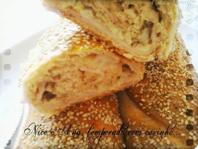 Baguete Integral Recheada