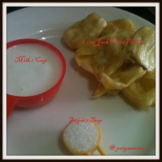 Jackfruit Milkshake