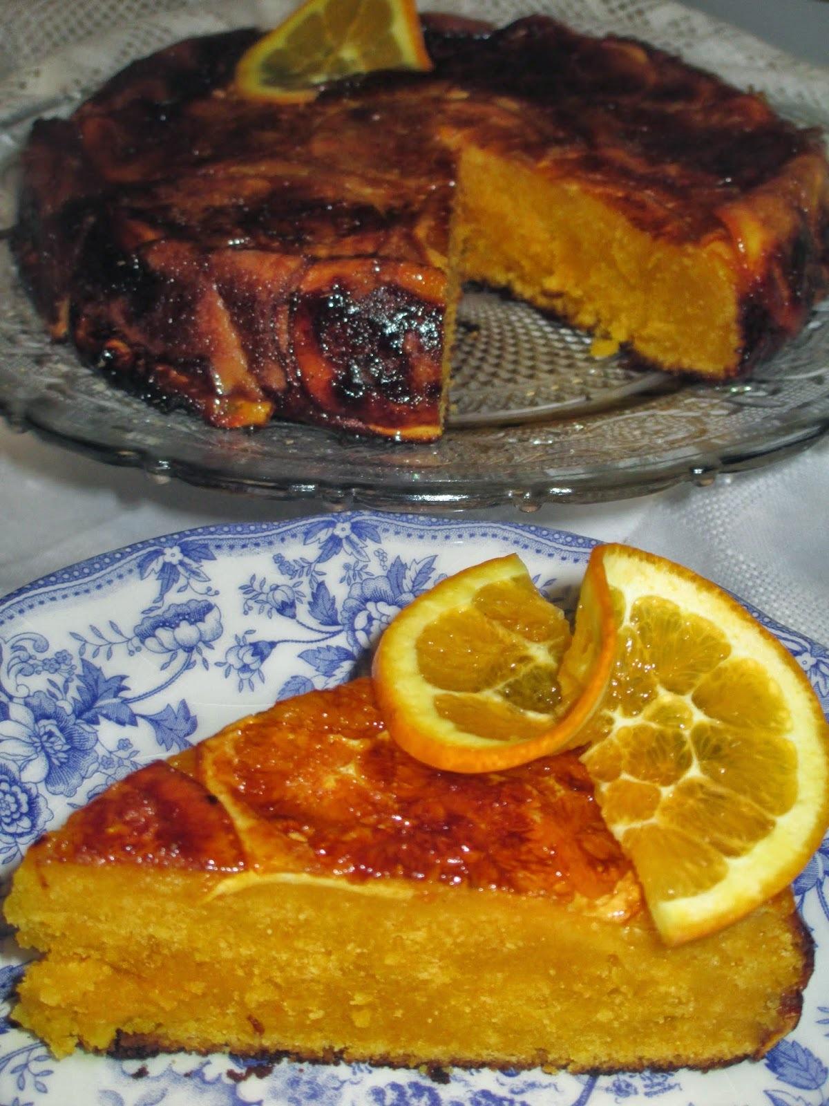 Bolo de cenoura e laranja caramelizada Receita Bimby e tradicional