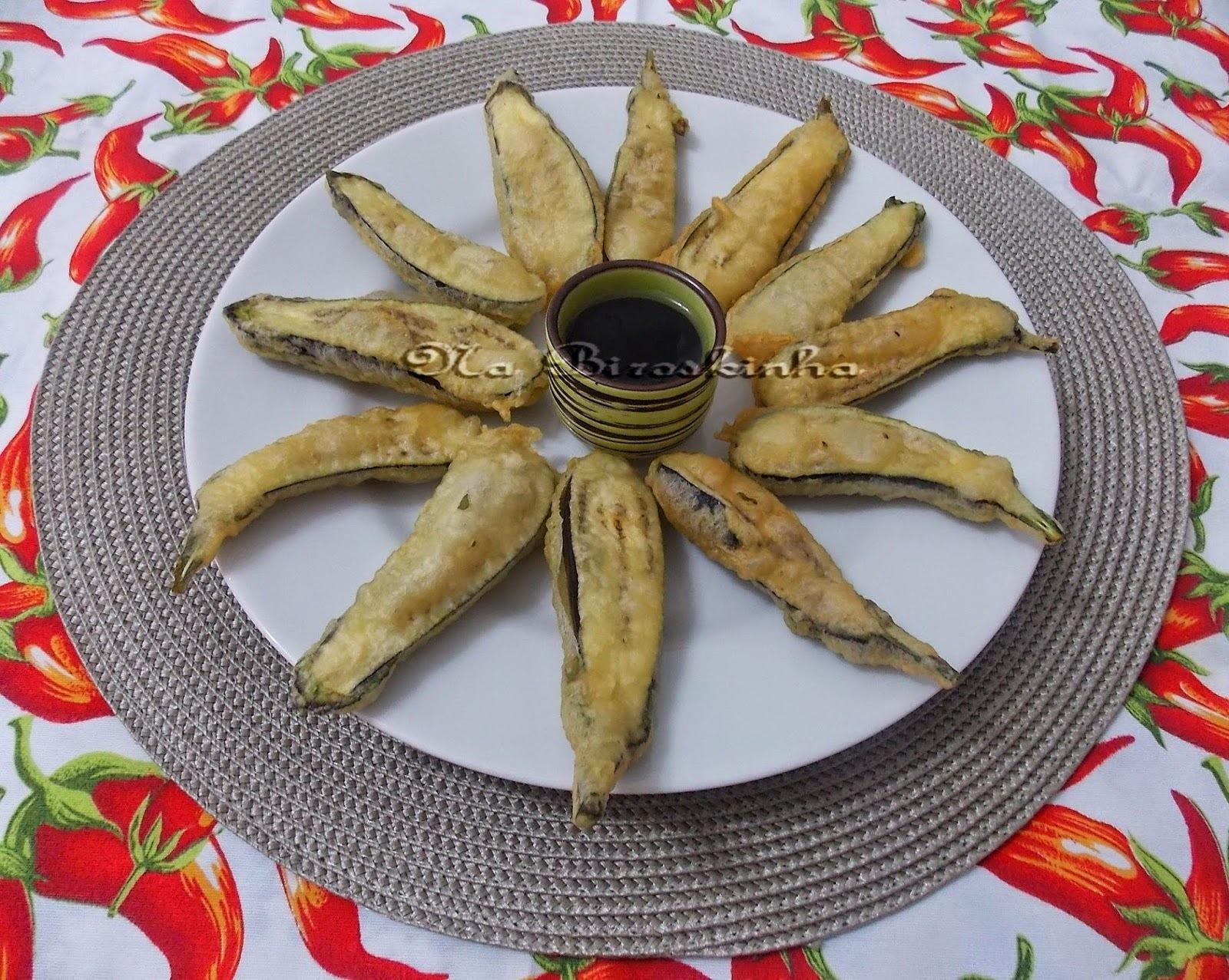 Mini Berinjelas Empanadas