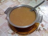 Sopa Cremosa de Feijão com Legumes e Gengibre