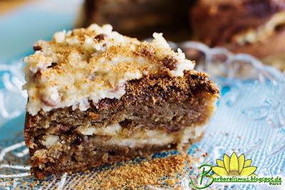 Bolo de Canela com recheio de pasta de cookie - Barbarelismus