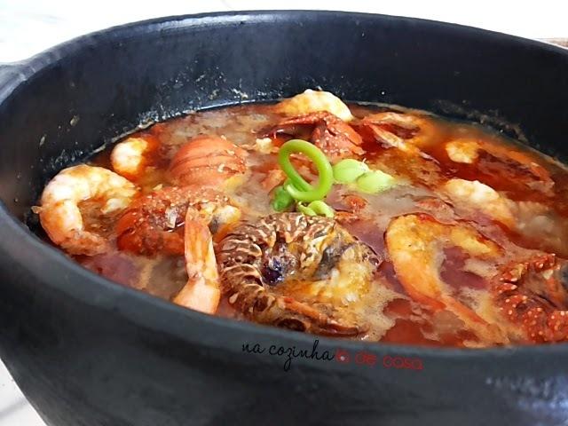de lagostim no forno