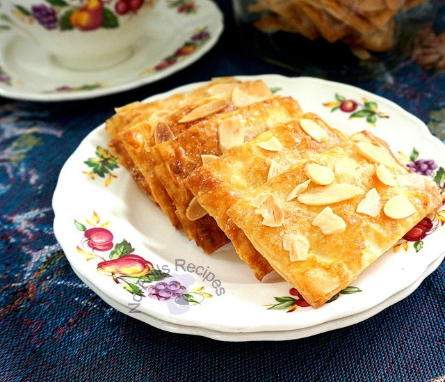 Almond Filo Pastry