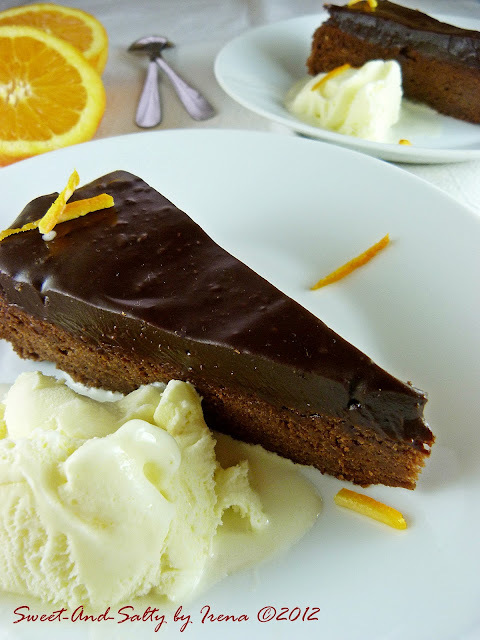 Čokoladno-pomorandžasti kolač/Choco-Orange Cake