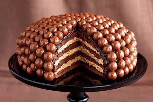 gateau au chocolat maltesers
