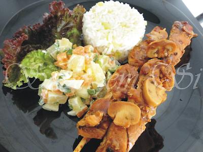 de molho de alho com cheiro verde para churrasco