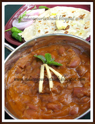 Punjabi Rajma Masala - Revisited Recipe