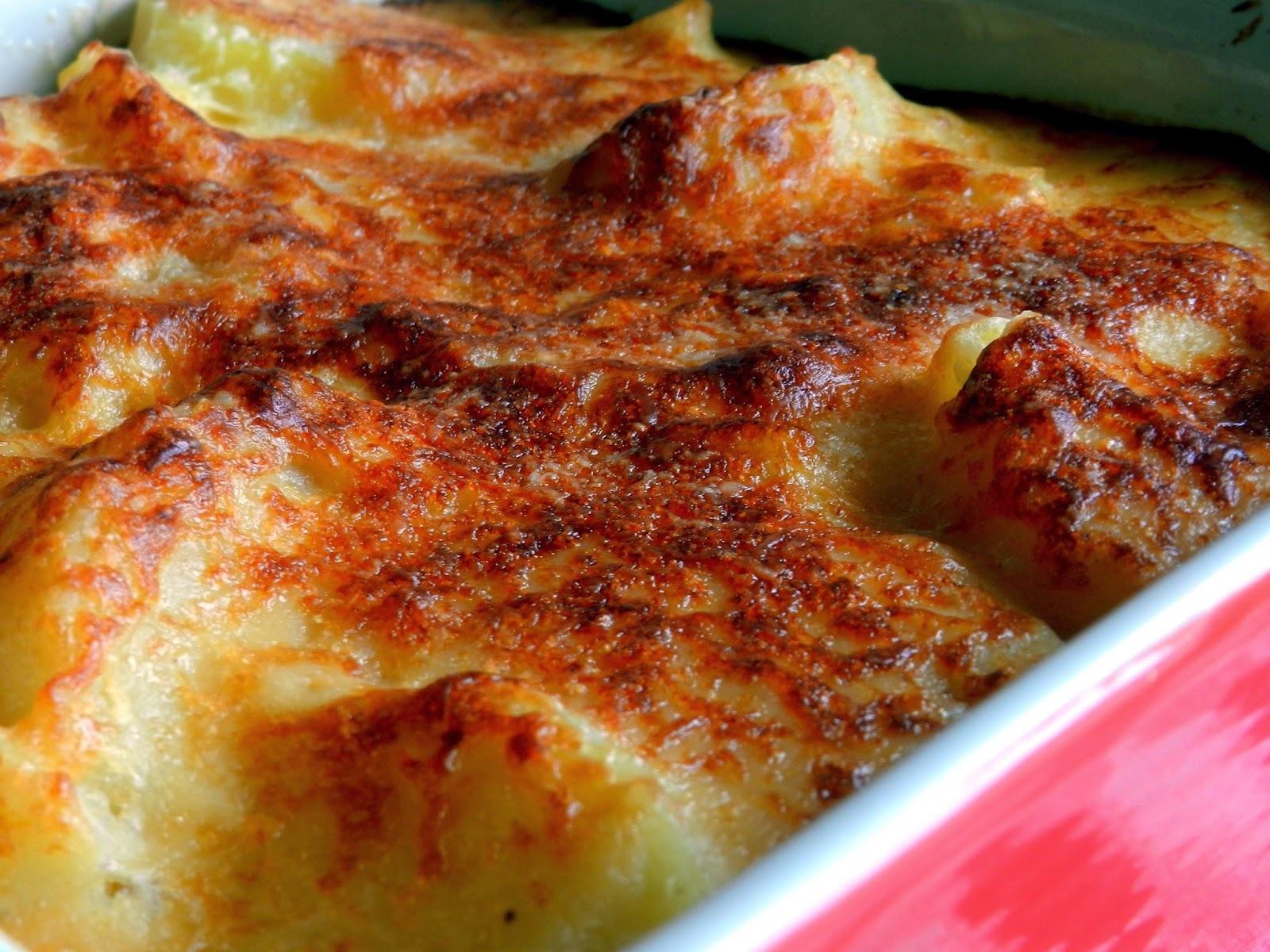 Batata gratinada basicona