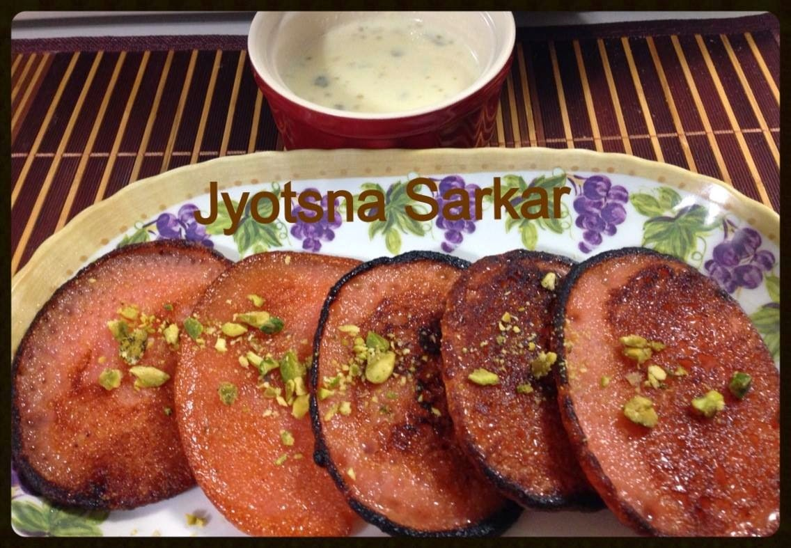 ORANGE MALPUAS: GUEST POST BY JYOTSNA BELLARE SARKAR