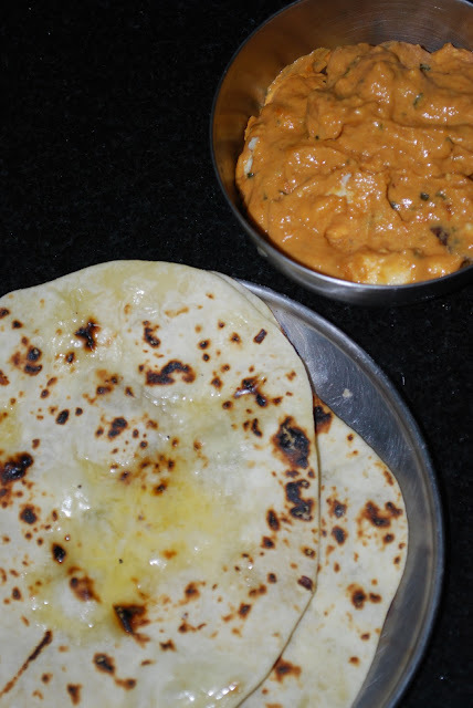 Homemade Butter Naan