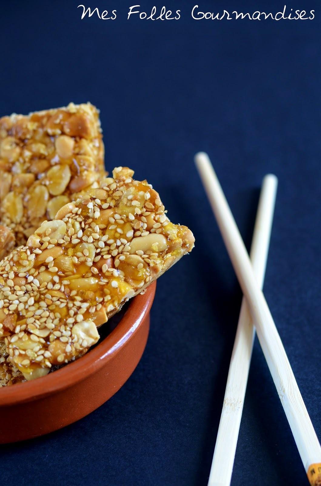Un nougat du bout du monde : le nougat dur chinois !