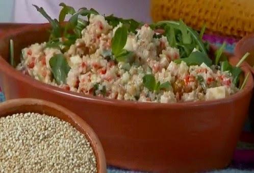 Ensalada de quinoa facil y fresca