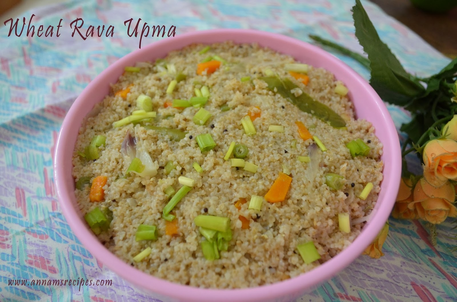 Wheat Rava Upma