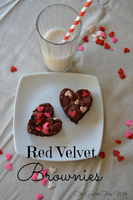 melt in your mouth red velvet brownies
