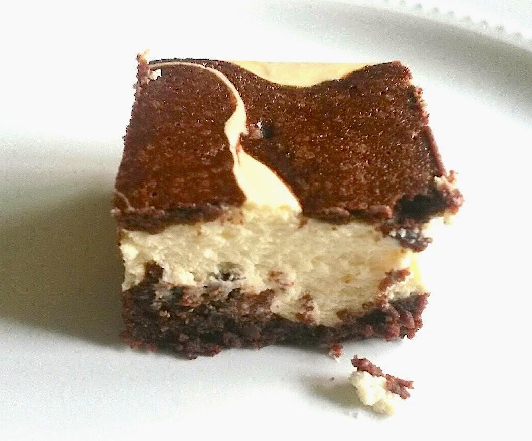 Marble Cheesecake Brownies
