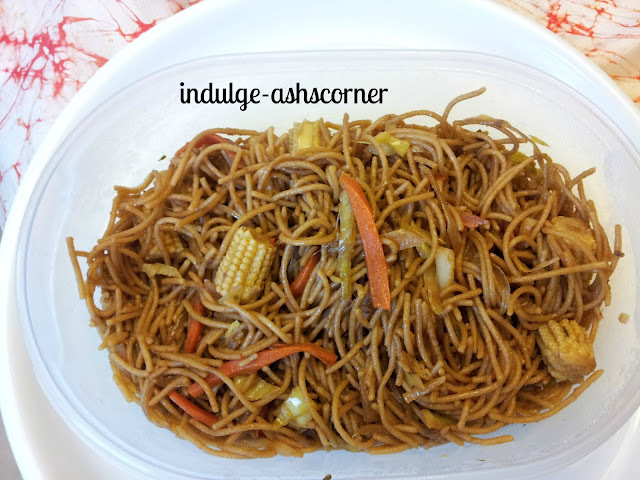Kids Lunch Box -Vegetable Wheat Noodles.