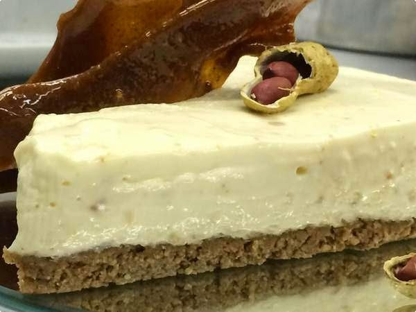 Torta Gelada de Amendoim