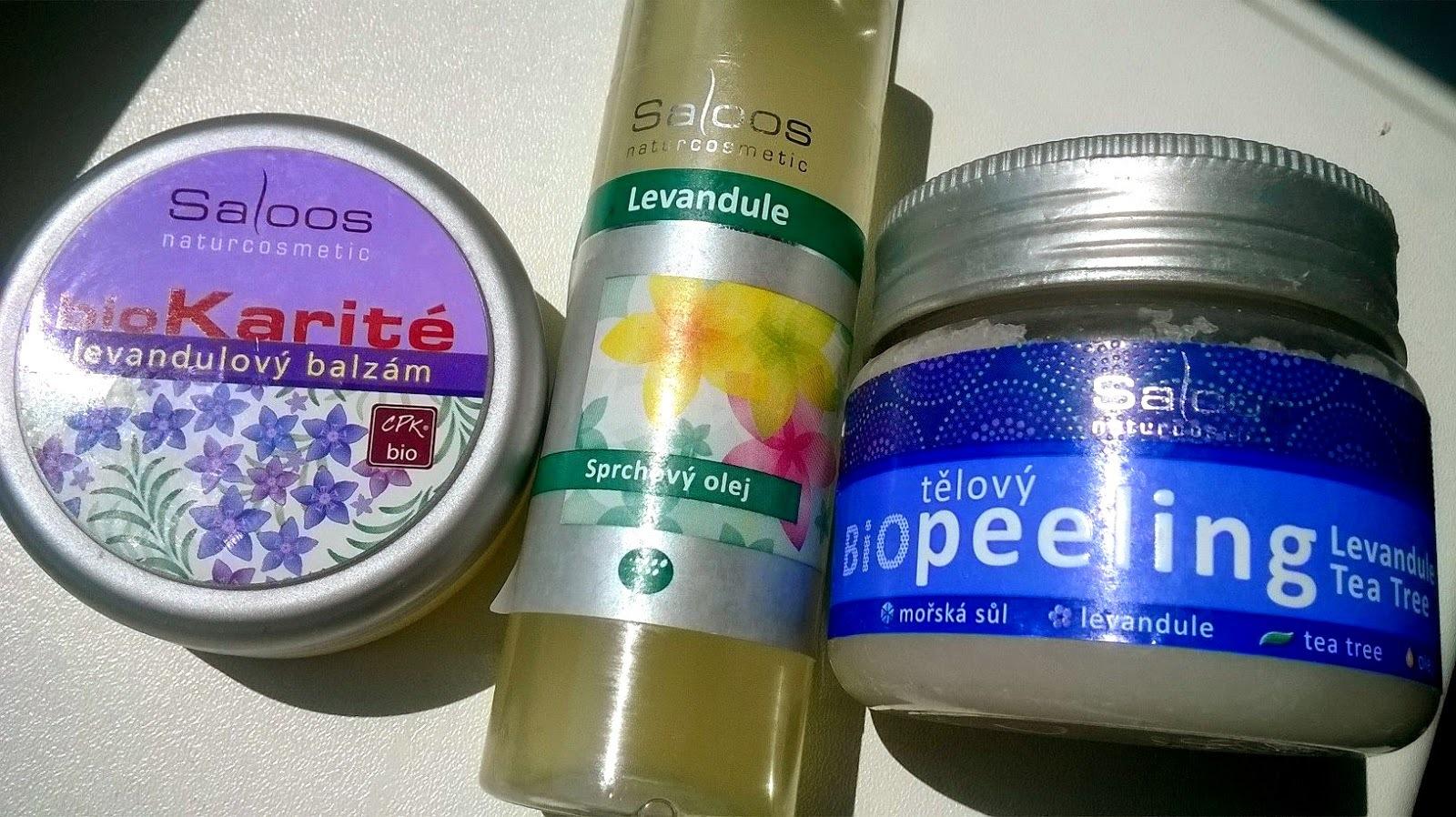 Levandulová péče o tělo od Saloos + letní vlasový tip