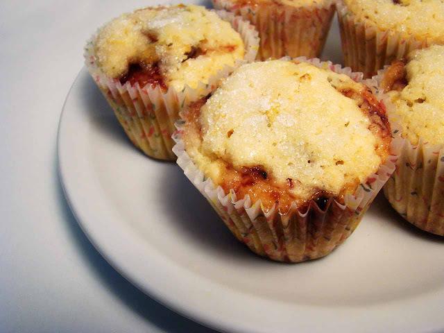 Muffins de Maracuyá y Naranja con sorpresa