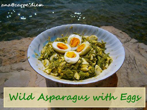 Jela od šparoga / Wild Asparagus Dishes