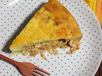 Receita de torta de frango com batatas e maionese Hellmann´s
