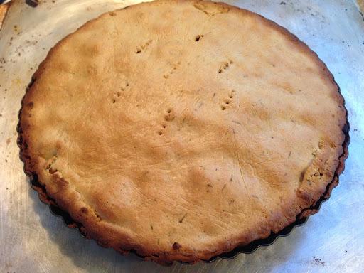Pork and 3 Mushroom Pie with Savoury Short Crust Pastry