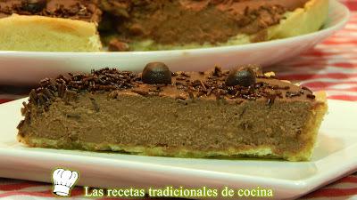 Receta fácil de tarta de chocolate y queso