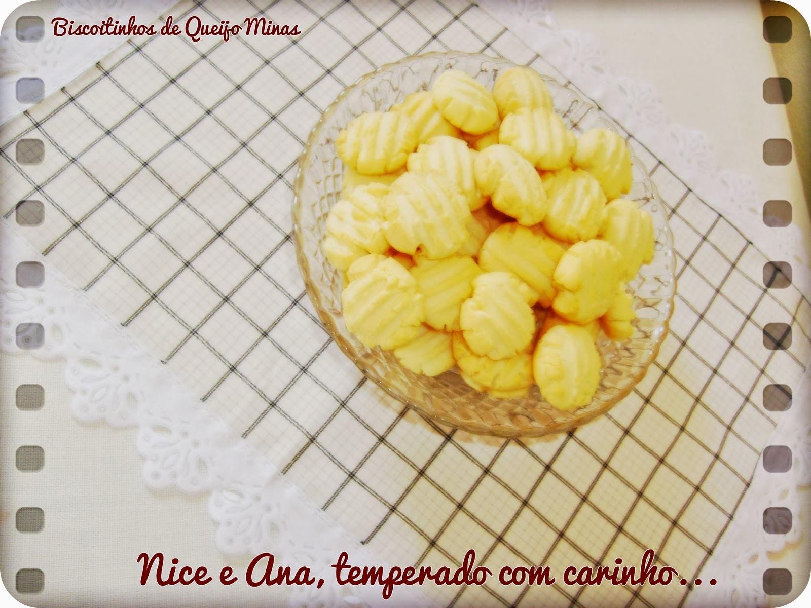 Biscoitinhos de Queijo Minas