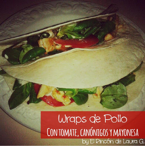 Wraps de Pollo y Pizzadillas